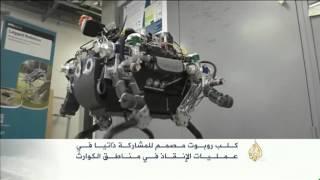 كلب آلي مصمم للمشاركة ذاتيا في عمليات الإنقاذ