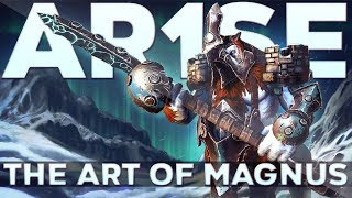 Ar1Se- Best Magnus in Dota 2 - Gameplay Highlights Patch 7.22