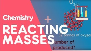 Calculating Masses In Reactions | The Chemistry Journey | The Fuse School
