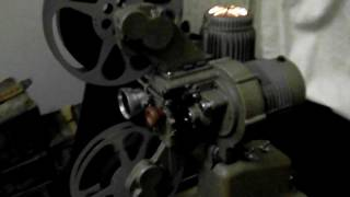 Watchtower Divine Will Movie (1958)  - Bell & Howell 16mm Video Projector test