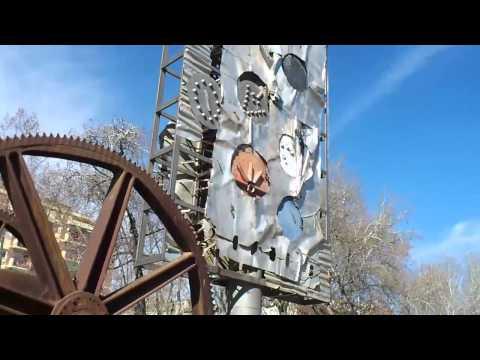Barcelona. Parc Ciutadella  urban art.