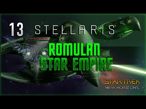 Unlimited* Powerrrr! - Stellaris Star Trek New Horizons Mod! Romulan Star Empire #13