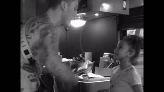 Mgk And His Daughter Singing At My Best Song