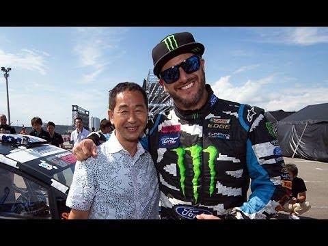 Ken Block Drift King >> ドリキン土屋圭市 x ジムカーナ ケン・ブロック DRIFT KING Keiichi Tuchiya x Ken Block Ford Fiesta - YouTube