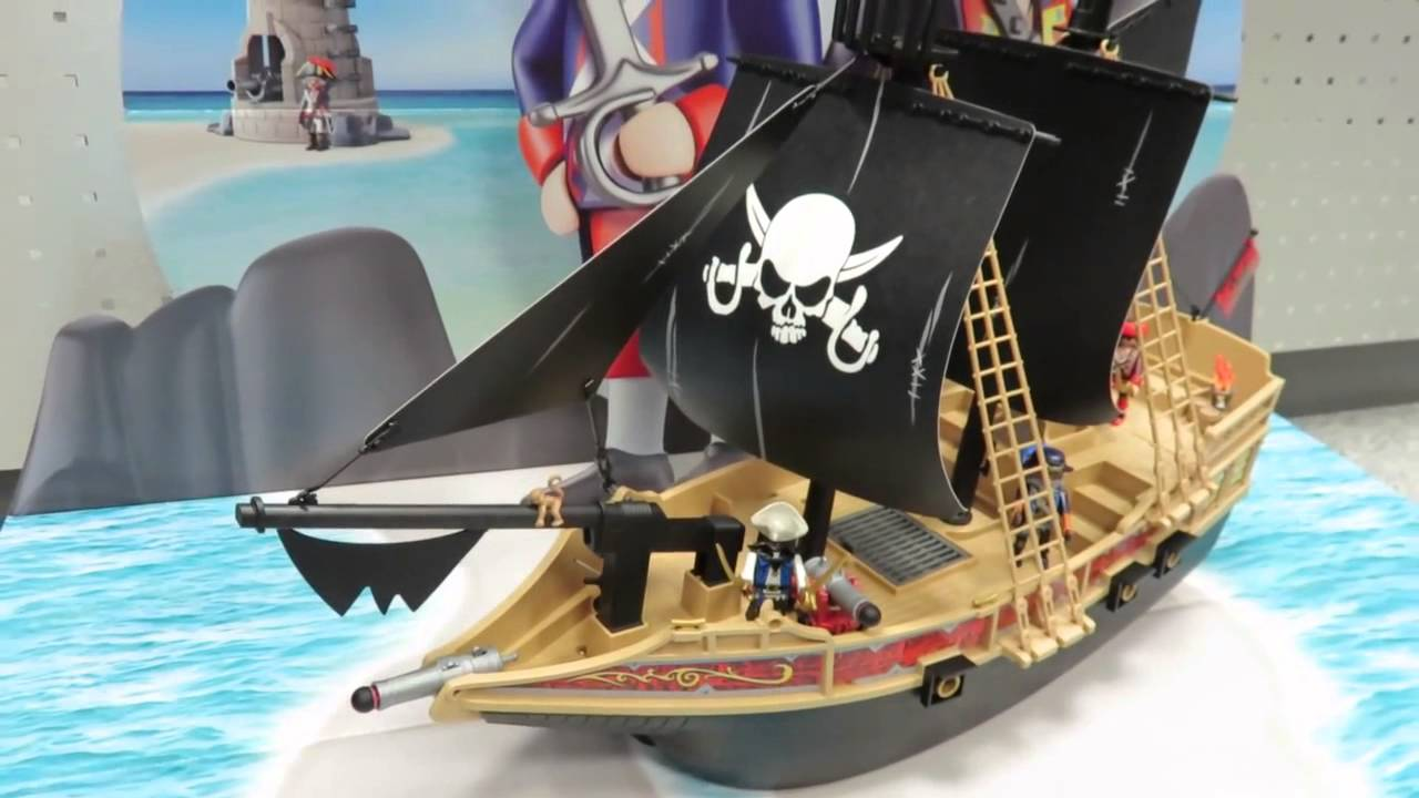das playmobil piratenschiff 6678 mit allen details. Black Bedroom Furniture Sets. Home Design Ideas