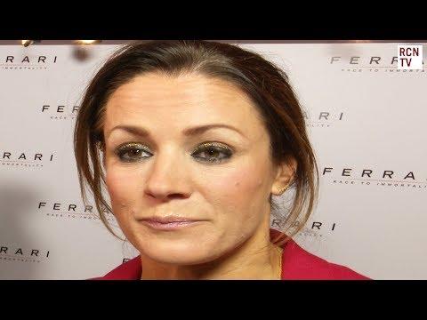 Natalie Pinkham Interview Ferrari Race To Immortality Premiere