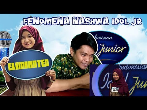 LOLOS, VIRAL DAN TERHEMPAS! FENOMENA NASHWA INDONESIAN IDOL JUNIOR [REACTION]