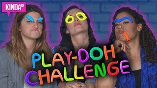 CARMILLA PLAY DOH CHALLENGE ft. NATASHA, ELISE + NICOLE | KindaTV