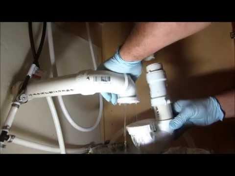best way to snake a kitchen sink drain