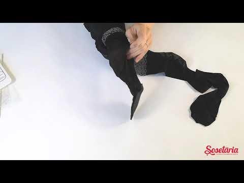 Prezentare ciorapi cu picatele Conte Elegant Passage 20 den