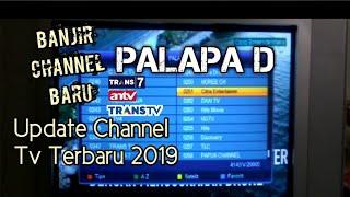 Frekuensi channel Trans 7/Tv ANTV Palapa D Terbaru 2019 MP3