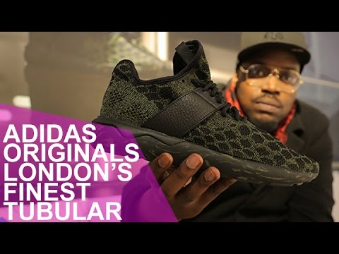 2a79aa8b9420 ADIDAS ORGINALS   LONDON S FINEST  TUBULAR - YouTube