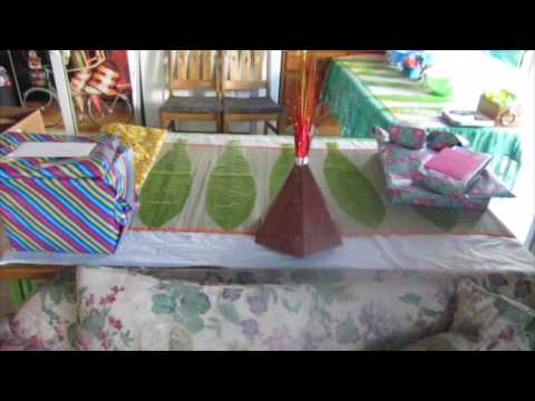 Moana Party Decorations (99 cent store & oriental trading budget)