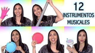 TUTORIAL: 12 instrumentos musicales para niños