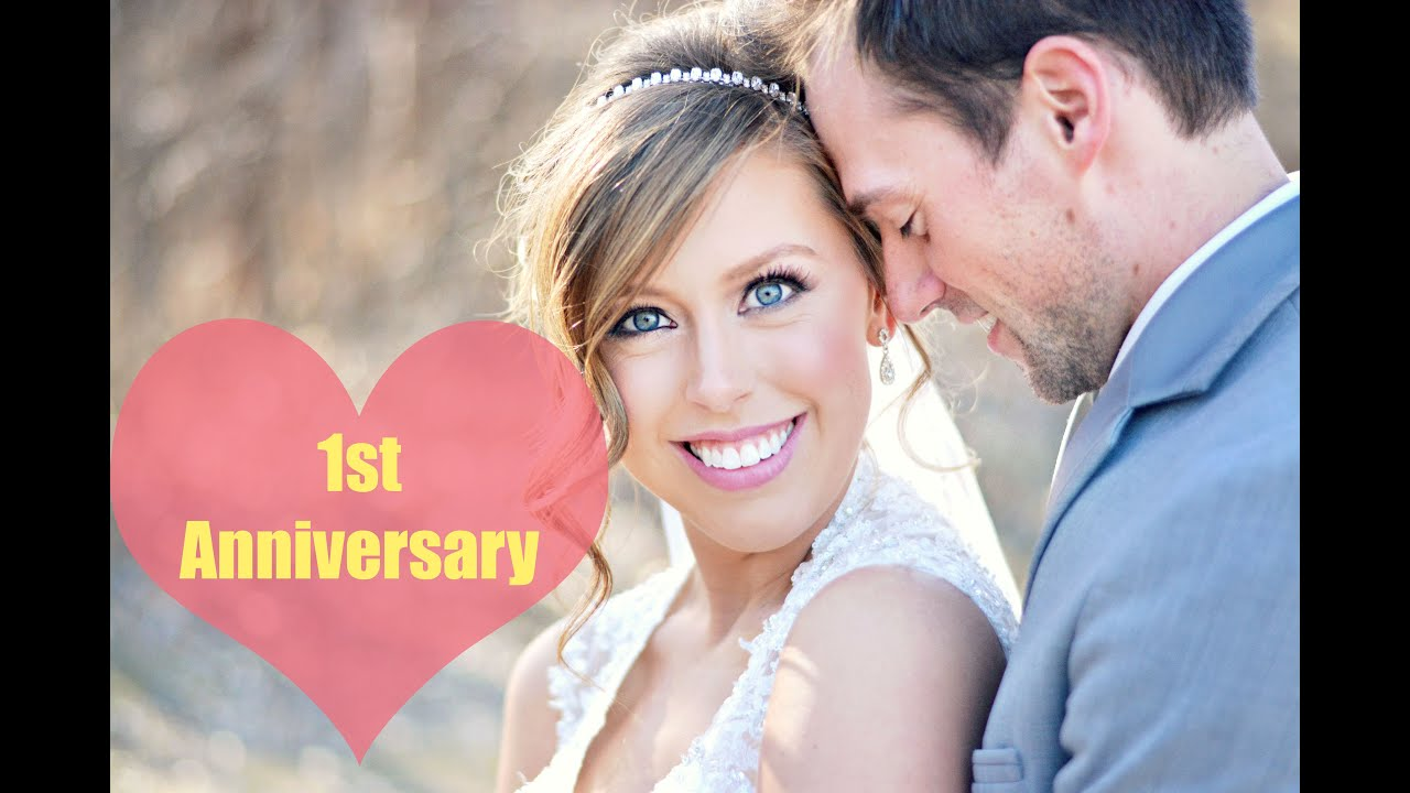 1st WEDDING ANNIVERSARY | 5 WAYS TO CELEBRATE - YouTube