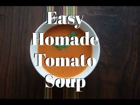 EASY Homemade Tomato Soup recipe – Neeno's Essentials