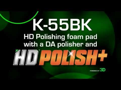 K-55BK HD Polishing foam pad with HD Polish+