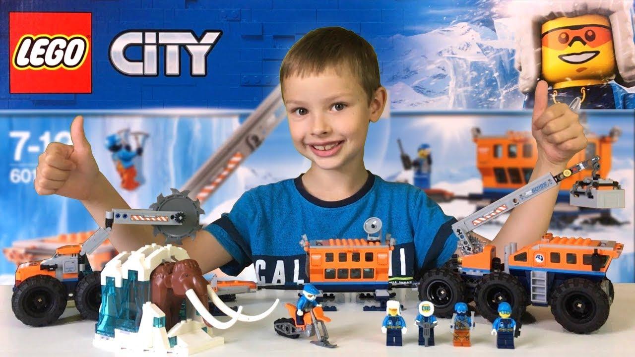 Arktyczna Baza Mobilna Recenzja Lego City 60195 Nowość Youtube