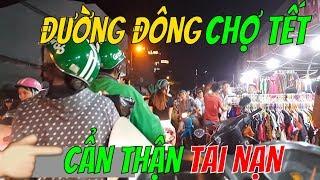 ĐI CHỢ TẾT BÀ CHIỂU cẩn thận tai nạn bà kon ơi    Guide Saigon Food