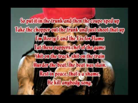 Lil Wayne - Oh lets do it with Lyrics