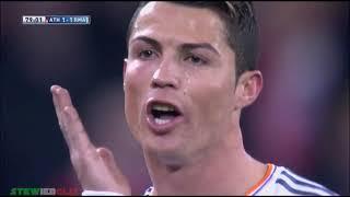 Những khoảnh khắc tức giận của Cristiano Ronaldo và Leo Messi ● By DLS 2018
