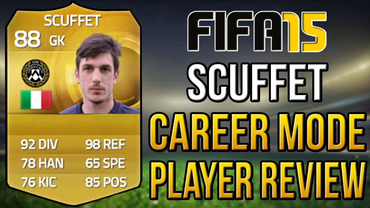 FIFA 15 Career Mode - Simone Scuffet Player Review[88 OVR] - YouTube