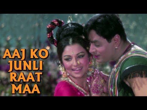 Aaj Ko Junli Raat Maa - Classic Duet Song | Sharmila Tagore, Rajendra Kumar | Talash