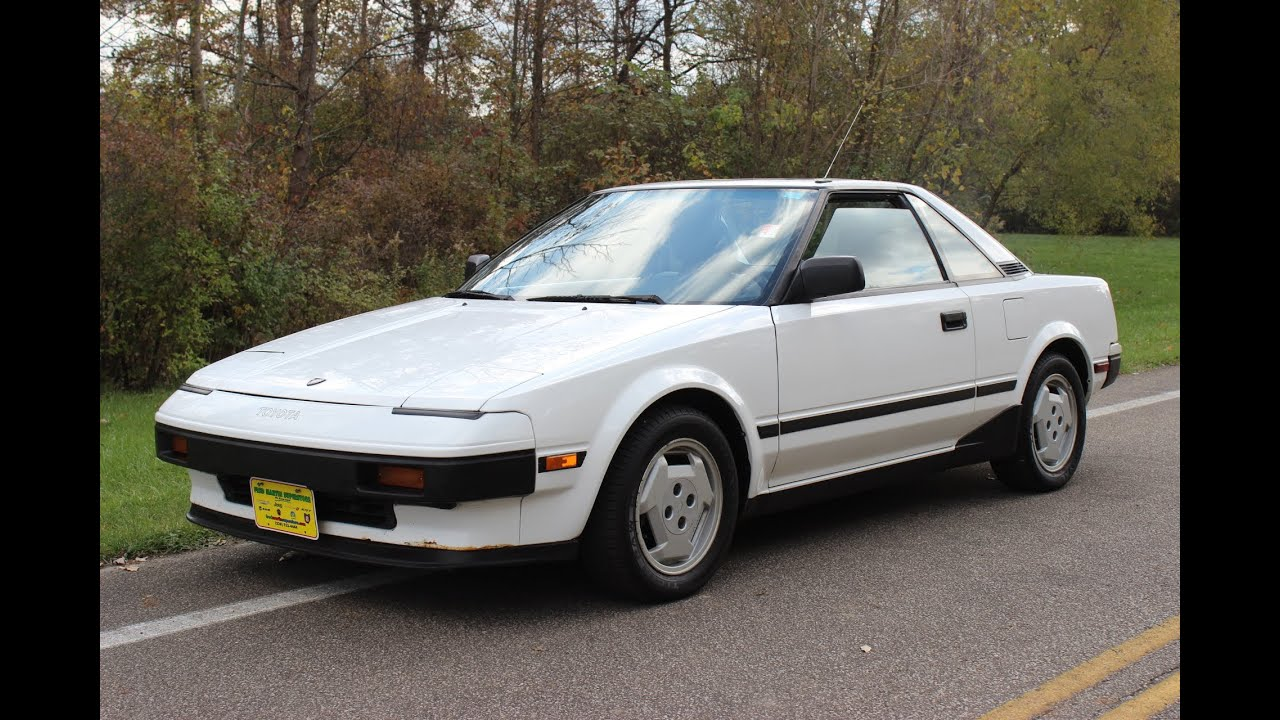 for sale 1985 toyota mr2 only 69 194 miles low miles youtube. Black Bedroom Furniture Sets. Home Design Ideas