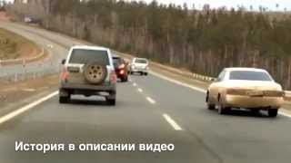 Хамский Беспредел на дороге Братска