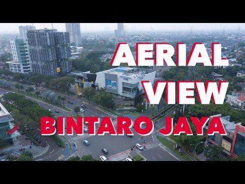 Pemandangan Udara Kota BINTARO JAYA