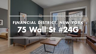 NYC Apartment Tour | Fully Furnished Rental in FiDi, New York