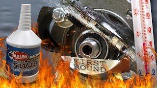 Red Line 5W40 Jak skutecznie olej chroni silnik? 100°C