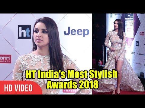 Parineeti Chopra At HT India's Most Stylish Awards 2018 | Viralbollywood
