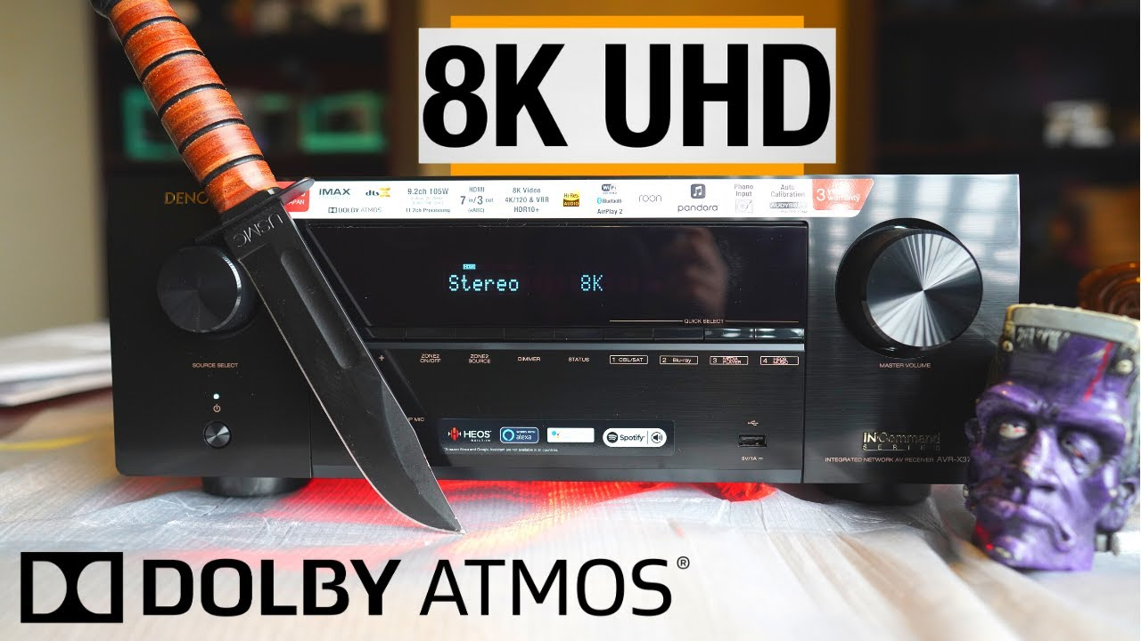 **New**Denon X3700H Unboxing 8K? Whats New for 2020