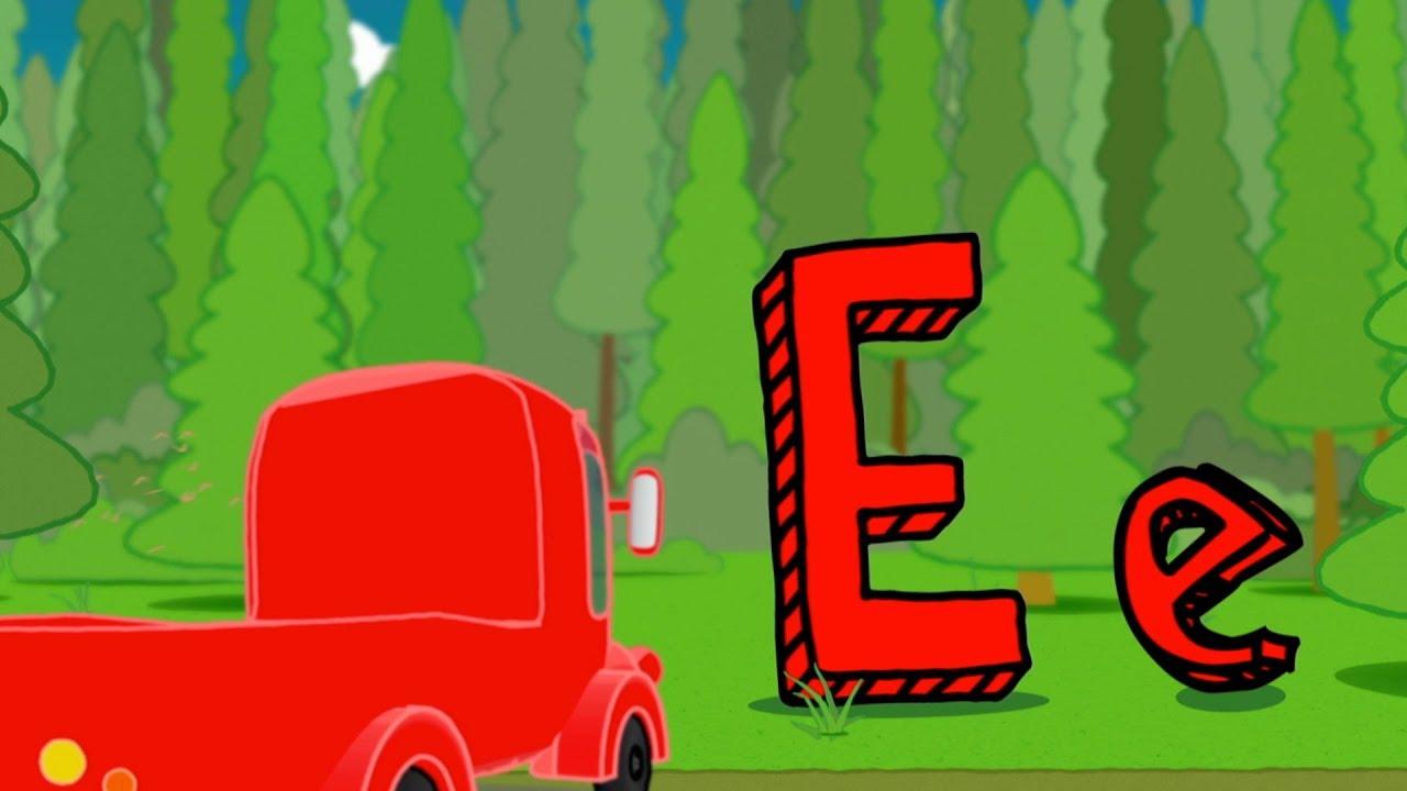 Learn ABC – E & F – Alphabet Part 3