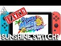 Super Mario Sunshine Switch FAKE! Fans Desperate For GameCube On Switch