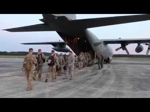 Virginia National Guard members depart for the U.S. Virgin Islands Hurricane Maria Response