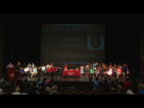 Crockett Elem. 5th Grade Promotion