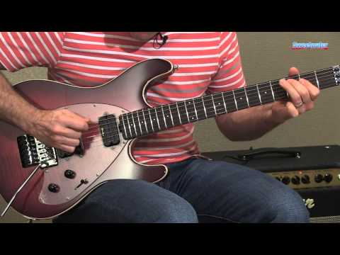 Music Man Steve Morse Y2D Electric Guitar Demo - Sweetwater Sound