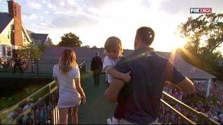 Paulina Gretzky's Skin-Tight Dress Steals Spotlight From Husband's U.S. Open Win