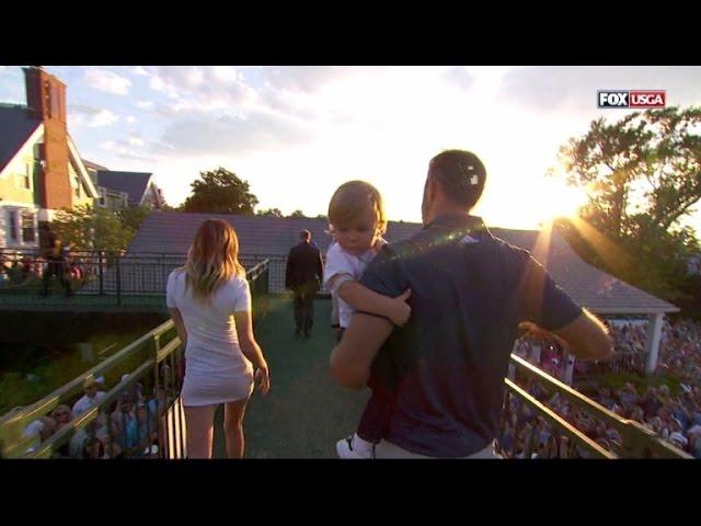 Paulina Gretzky\'s Skin-Tight Dress Steals Spotlight From Husband\'s U.S. Open Win