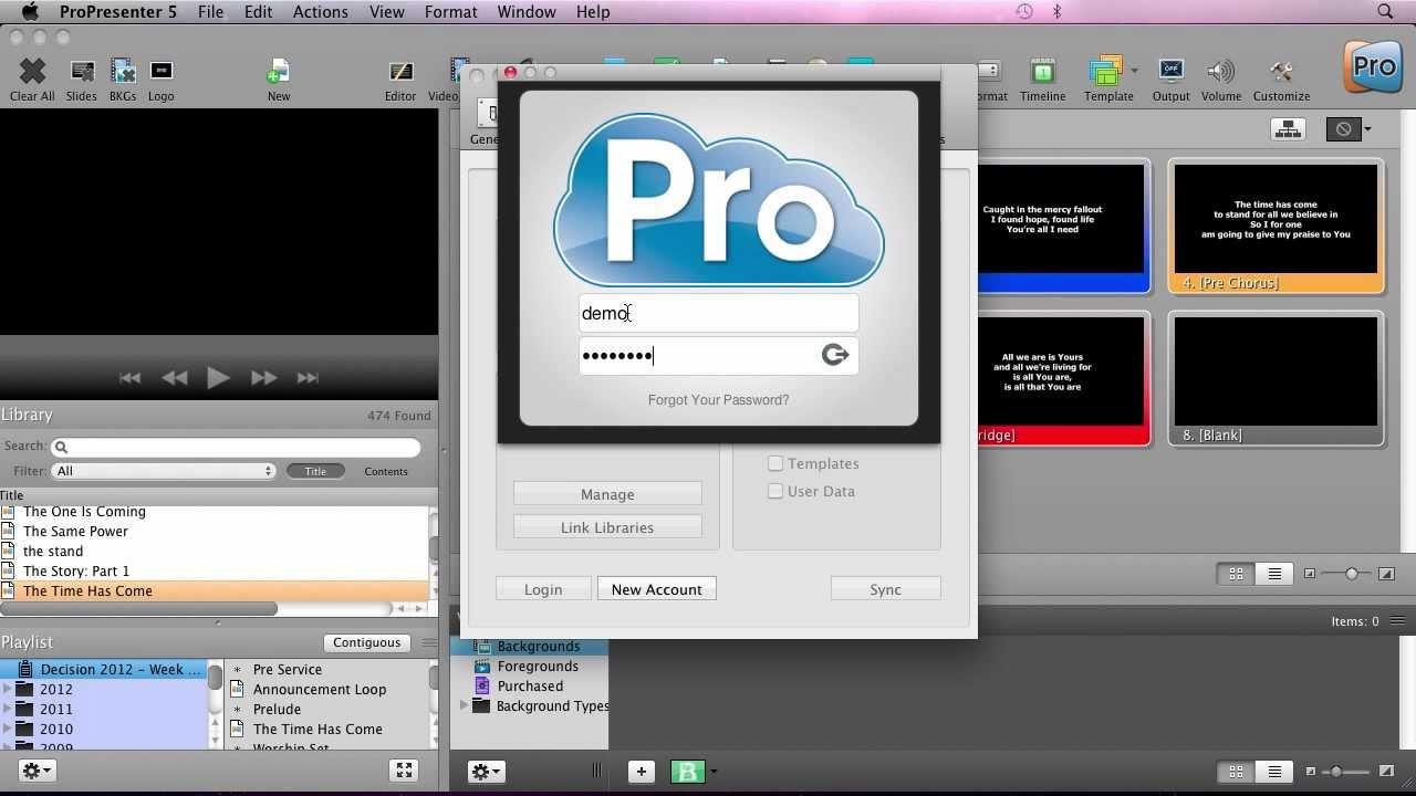 ProPresenter 6: My First Presentation