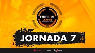 FREE FIRE LEAGUE - LAN - JORNADA 7