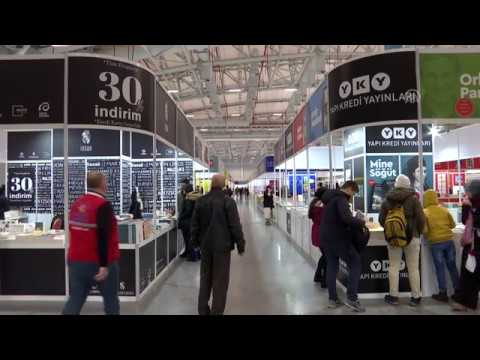 First international Eurasia book fair opens in Istanbul.