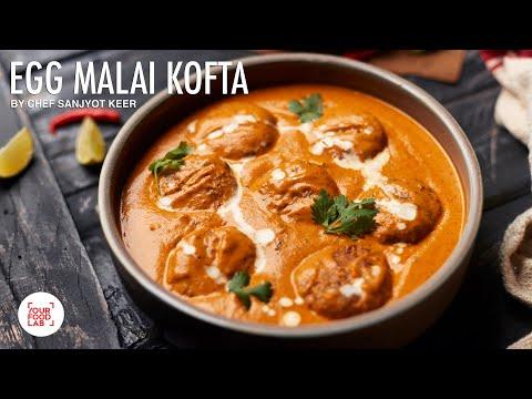 Anda Malai Kofta l Special Egg Recipe l Chef Sanjyot Keer