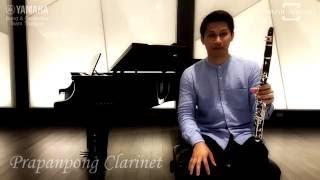 Video New Yamaha Clarinet YCL-SE Artist Model Reviewed by Prapanpong Clarinet download MP3, 3GP, MP4, WEBM, AVI, FLV November 2018