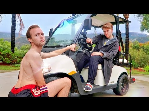 Our New Golf Cart Tour!
