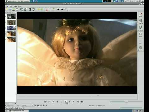 Video Editing in Linux - Capture in  Video with Kino