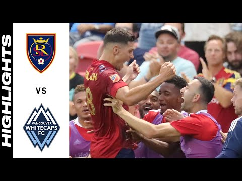 Real Salt Lake Vancouver Whitecaps Goals And Highlights
