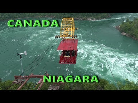 Niagara Falls Whirlpool Aero Cable Car Ride Over Niagara Gorge - U.S.A.&Canada Ep28-Travel Calatorii